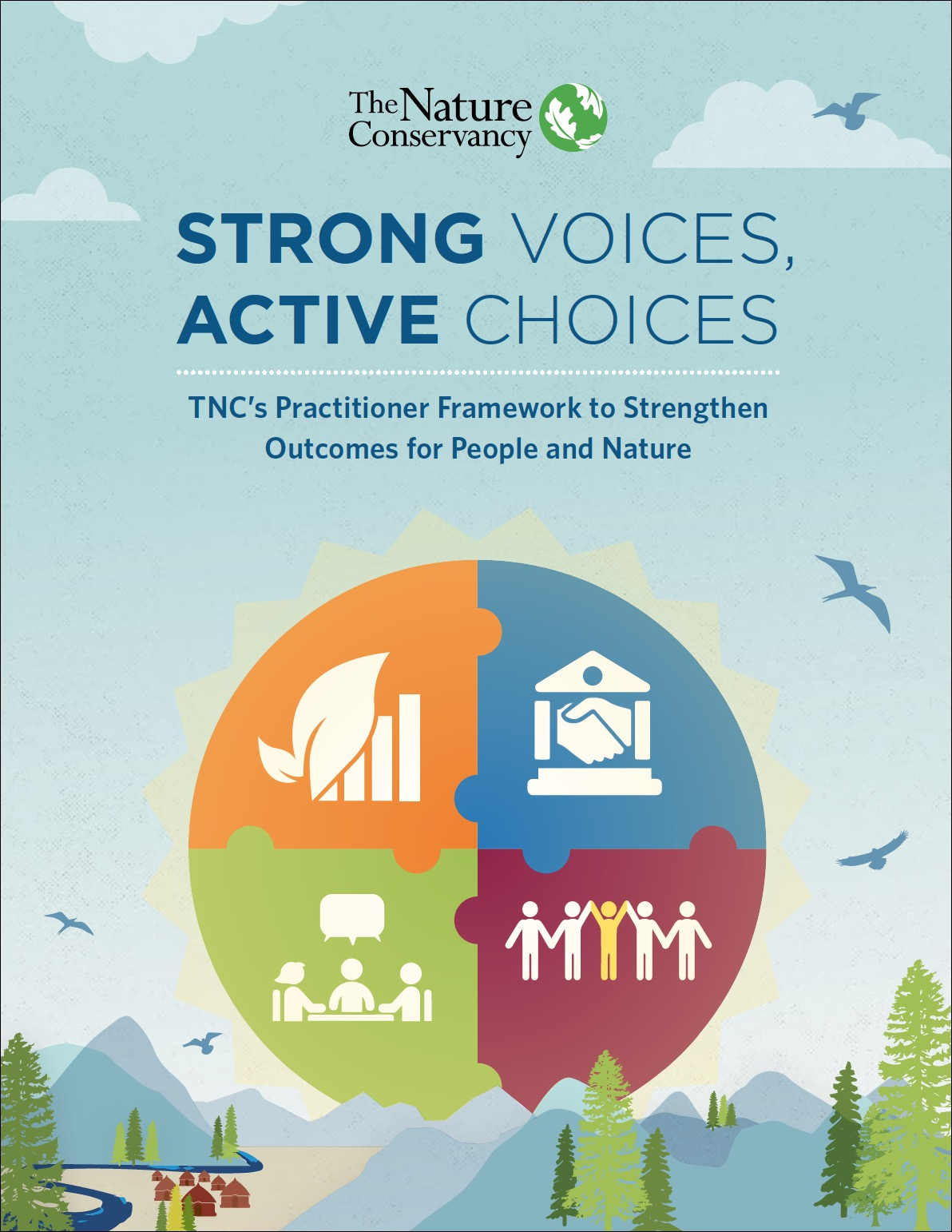 TNC's practitioner framework to strengthen outcomes for people and nature.
